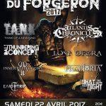 LE METAL DU FORGERON 2017